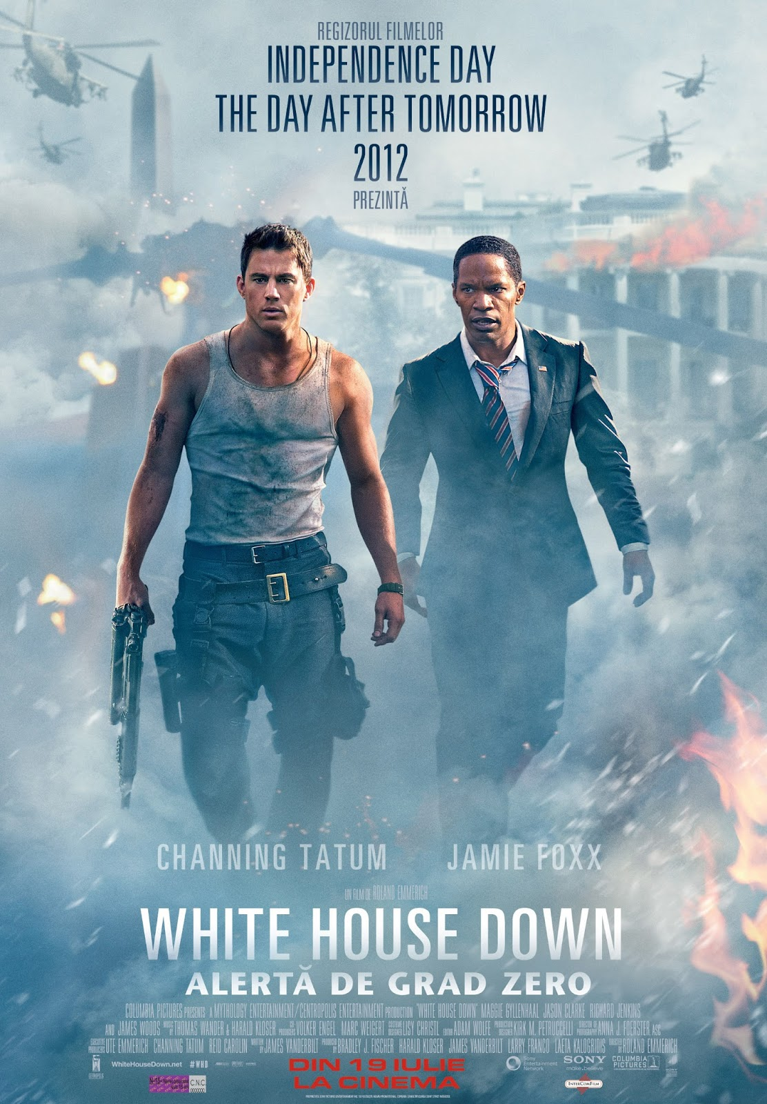 bina007 movie reviews white house down. Black Bedroom Furniture Sets. Home Design Ideas