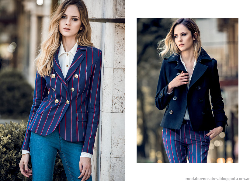Sacos, camisas, pantalones otoño invierno 2015 Markova.