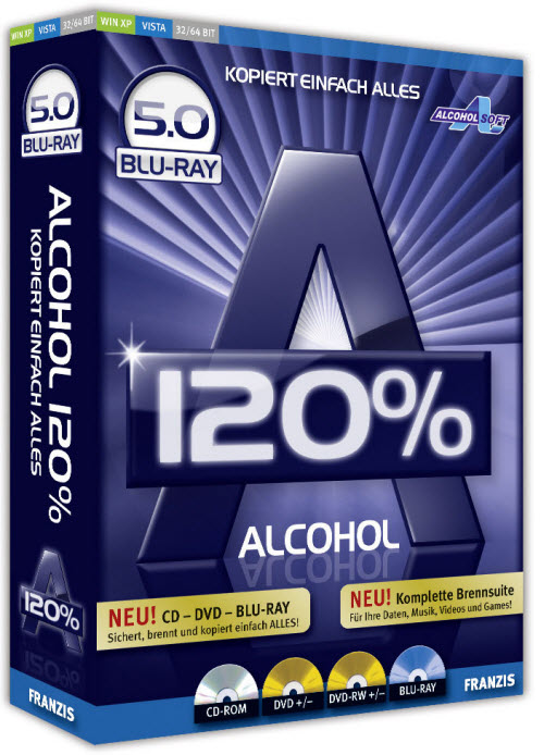 Free alcohol burning program burning software alcohol