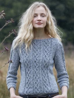 Cable Knit Jumper Pattern Free : A Really Good Yarn: Free Patterns