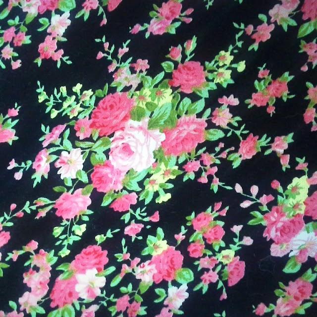floral print blend