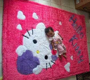 EXCLUSIVE Karpet Lembut Bahan RASFUR by Hand Made ! :)    HP : 085210428401 PIN BB : 28CA1375