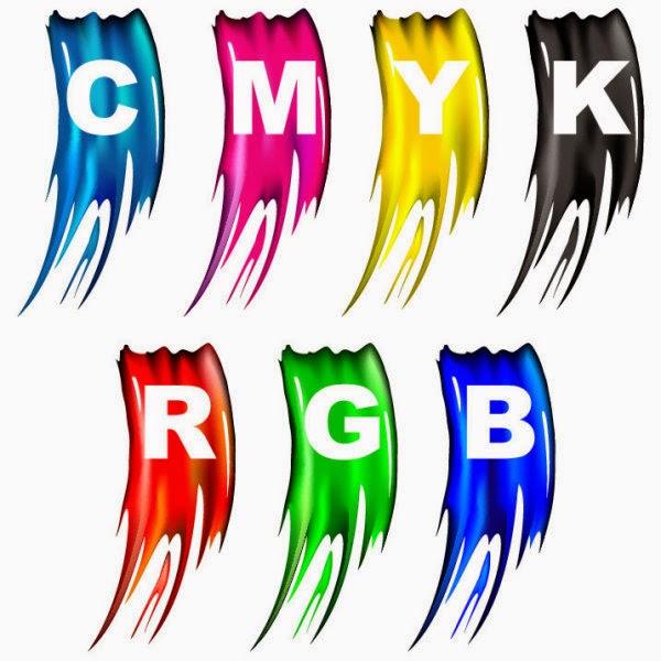 الفرق بين الصيغة اللونية RGB و CMYK