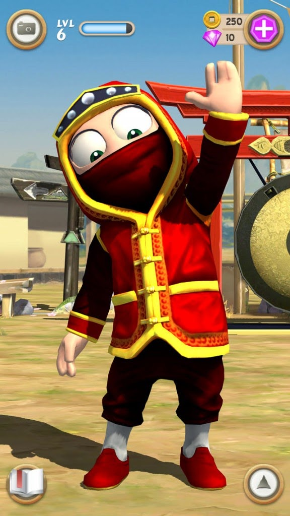 Clumsy Ninja Full Apk resimi 5