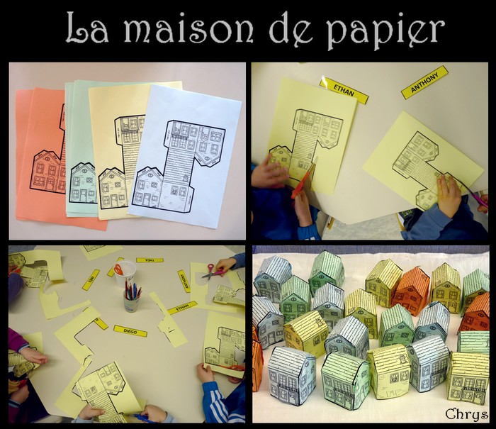 Le journal de chrys mon projet maison en maternelle for Album photo maison du monde
