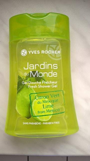 Yves Rocher o zapachu zielonej cytryny z Meksyku