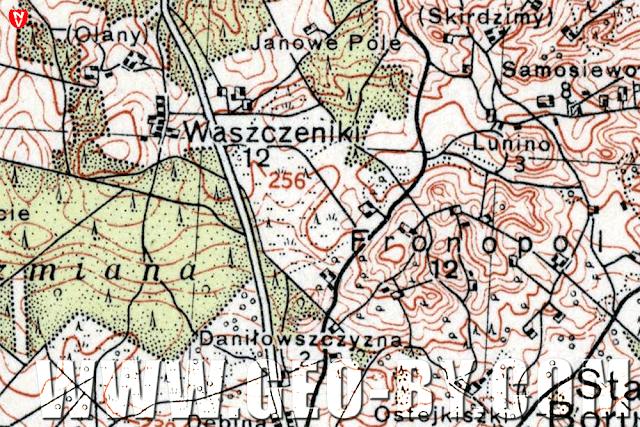 Карта местности. Фронополь