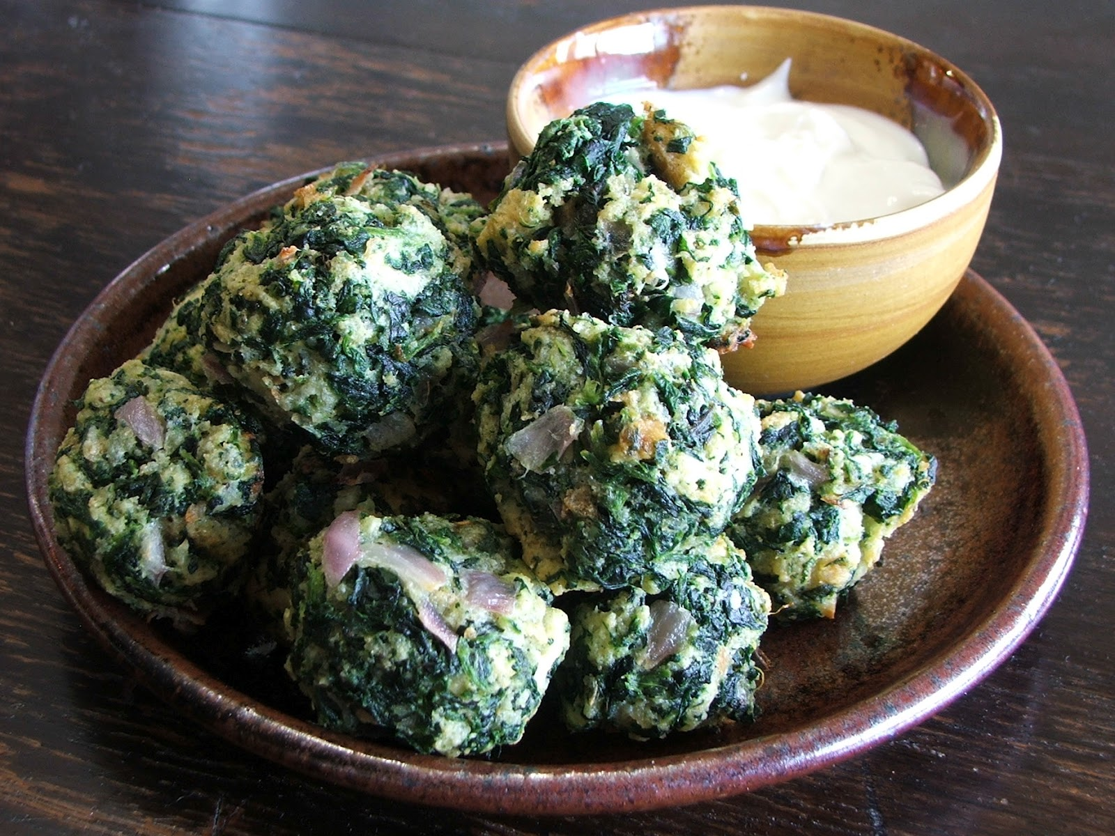 spinach balls hates spinach so i wasn t spinach balls uncooked spinach ...