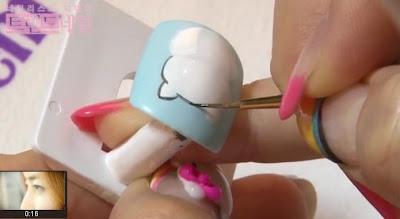 Cute Kitty nail