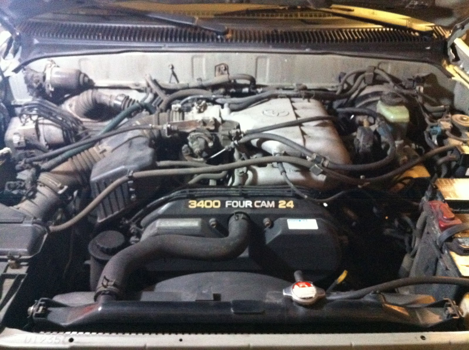 Experience Database: Replacing 1999 Toyota 4Runner Spark Plug