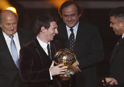 Lionel Messi - 2011 FIFA Ballon d'Or