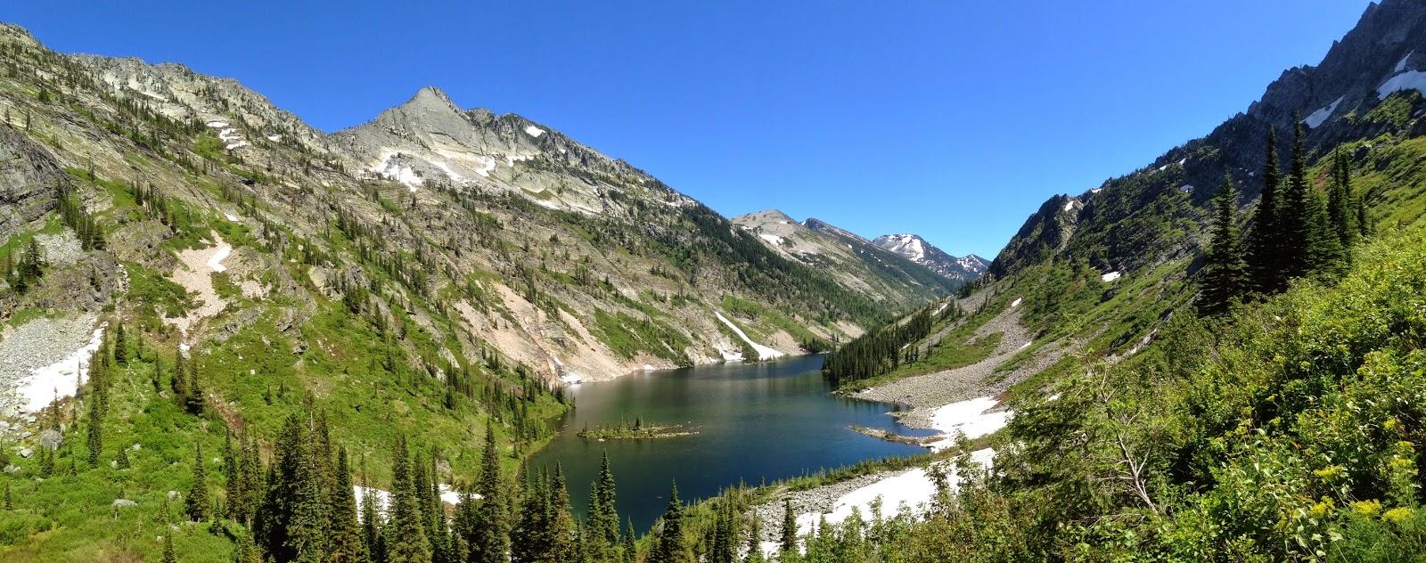 Amazing Rock Lake, Cabinet Mountains, Montana