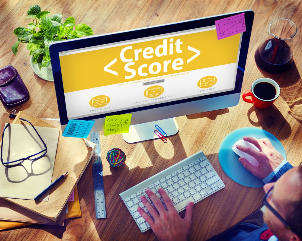 Credit score check online