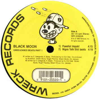Black Moon ‎– Unreleased Beats (Part 1) (Vinyl) (1998) (192 kbps)