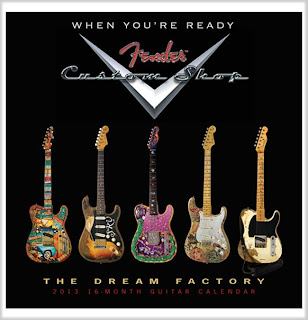 2013 Fender Custom Shop Calendar