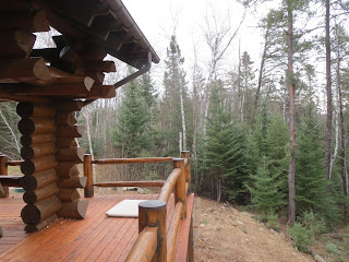 Log cedar lake home ely gazebo huisman Ely MN