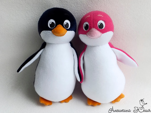 пингвинчики Лоло и Пепе игрушки