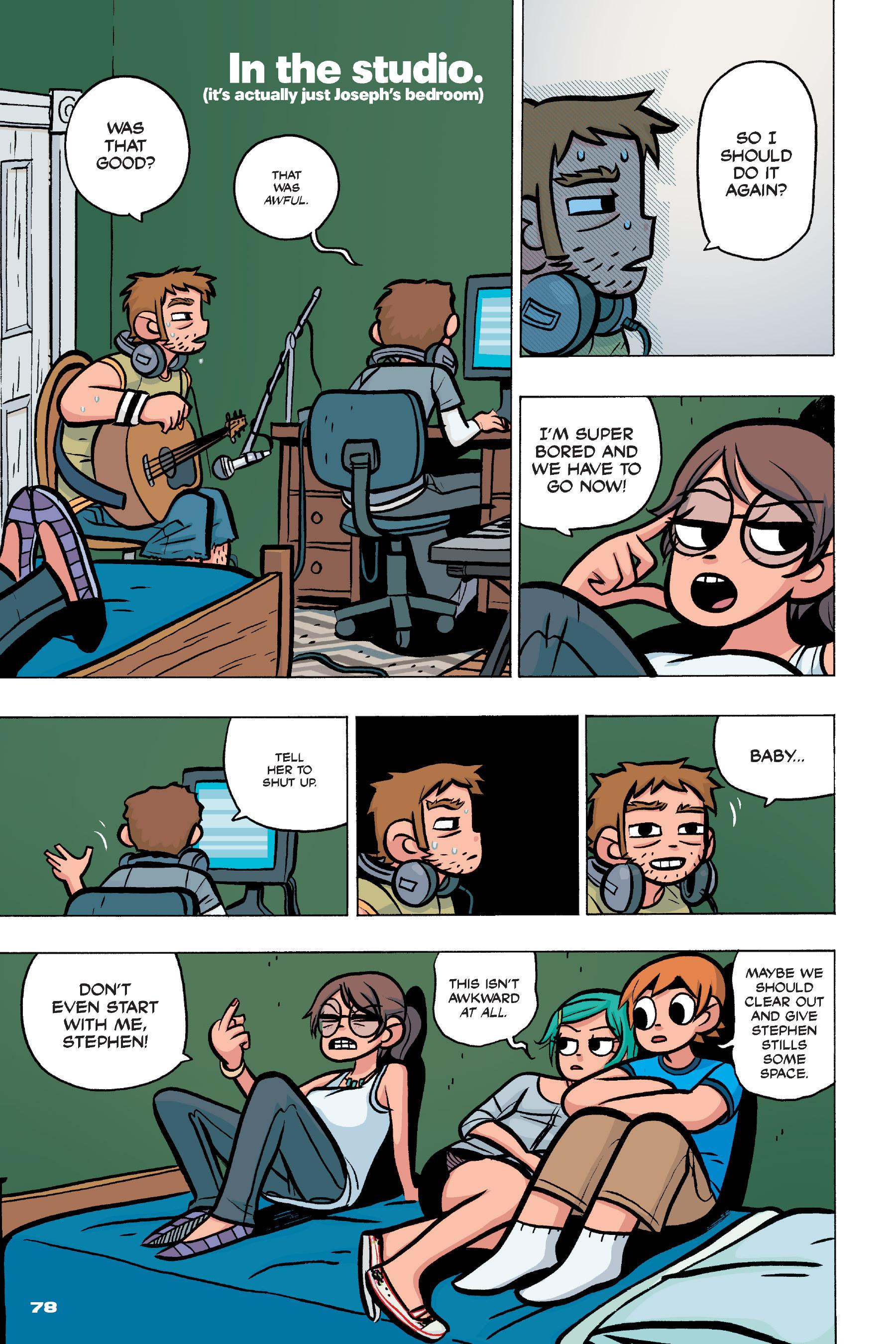 Read online Scott Pilgrim comic -  Issue #4 - 76