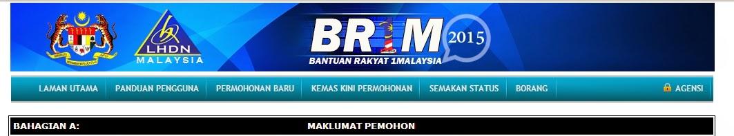 BR1M 2015 Di Bayar Pada 21 September 2015
