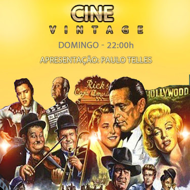 CINE VINTAGE - A SALA DE CINEMA DAS NOITES DE DOMINGO. AS MAIORES TRILHAS SONORAS DO CINEMA