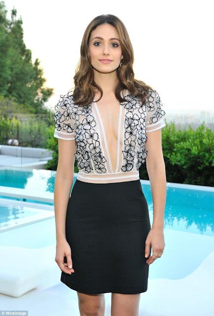 Singer, Actress @ Emmy Rossum - Vogue 120 Fetes LA in Beverly Hills