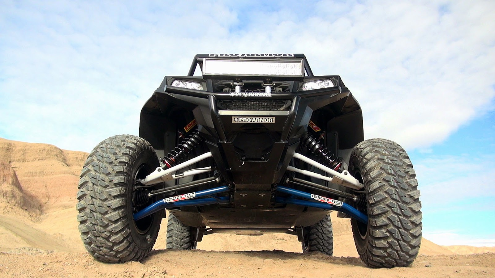 Polaris RZR XP 900 XGC A-arms