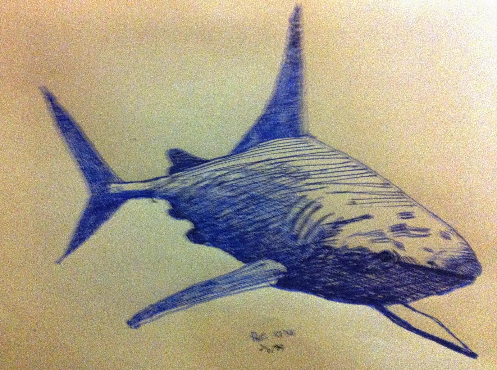 Blu Shark - Toppi (Inchiostro Stilo)