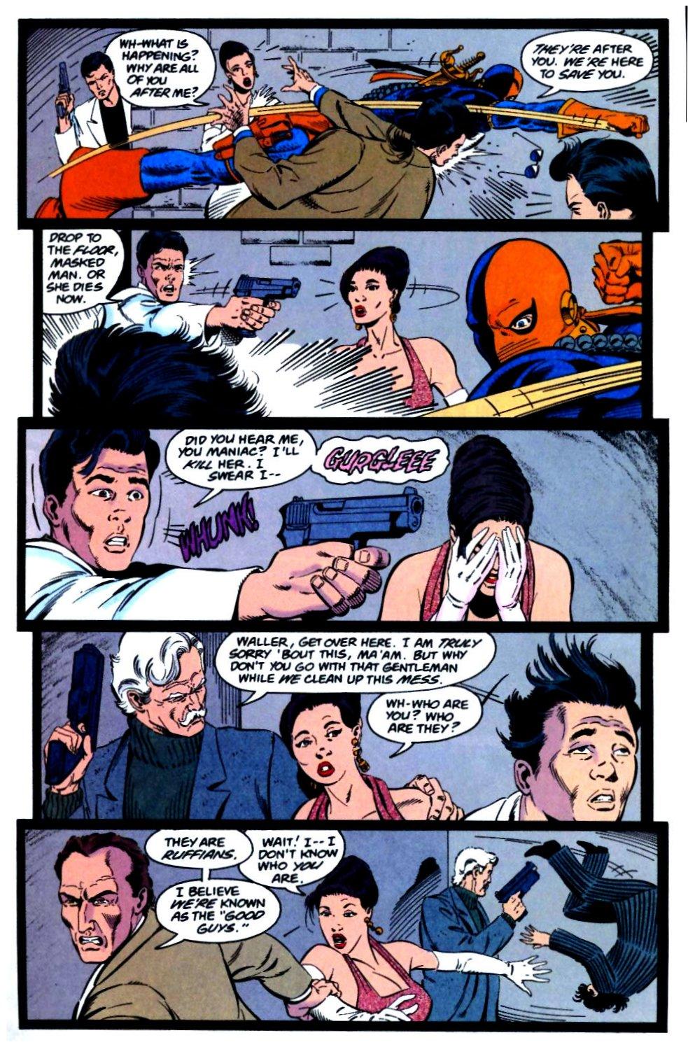 Deathstroke (1991) Issue #29 #34 - English 7