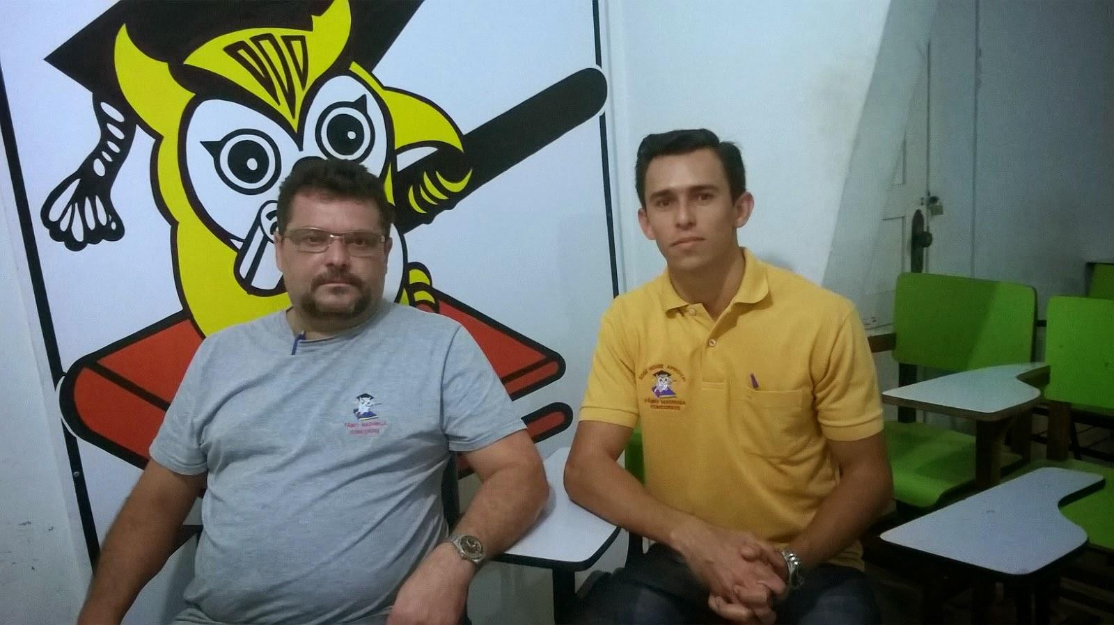 PROF.FÁBIO MADRUGA COM SEU ALUNO JOSEMAR FERREIRA ALVES ( APROVADO NA PM - PE ) !