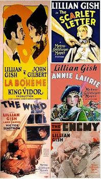 Lillian Gish, John Gilbert, Lars Hanson 4 DVDs 4 classics FREE ship USA