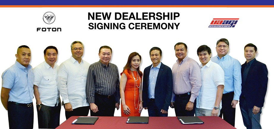 FOTON Philippines New Dealership Signing Ceremony