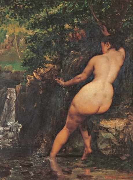 Gustave Courbet - La source,1868.
