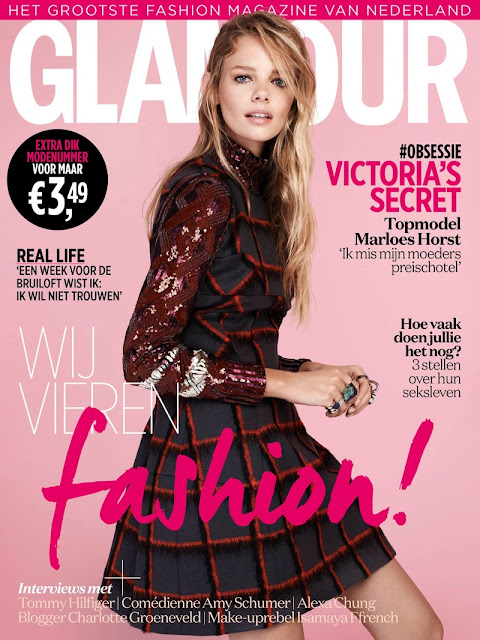 Fashion Model @ Marloes Horst - Jasper Abels for Glamour Netherlands, September 2015