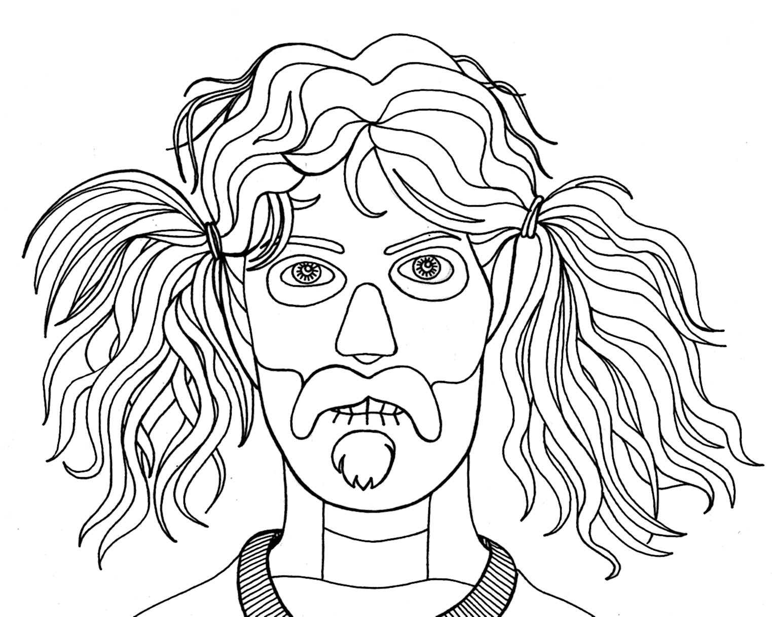 weird coloring pages - photo#16