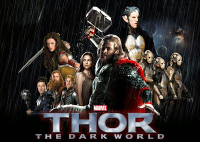 Poster Of Thor 2 The Dark World (2013) In Hindi English Dual Audio 300MB Compressed Small Size Pc Movie Free Download Only At worldfree4u.com