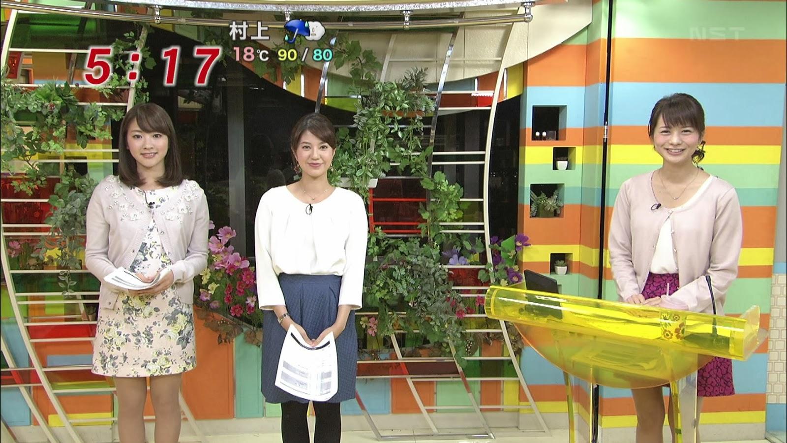 三上真奈、遠藤玲子、 高見侑里の美脚・ミニスカ 13年11月7日 めざに... 三上真奈、遠藤玲