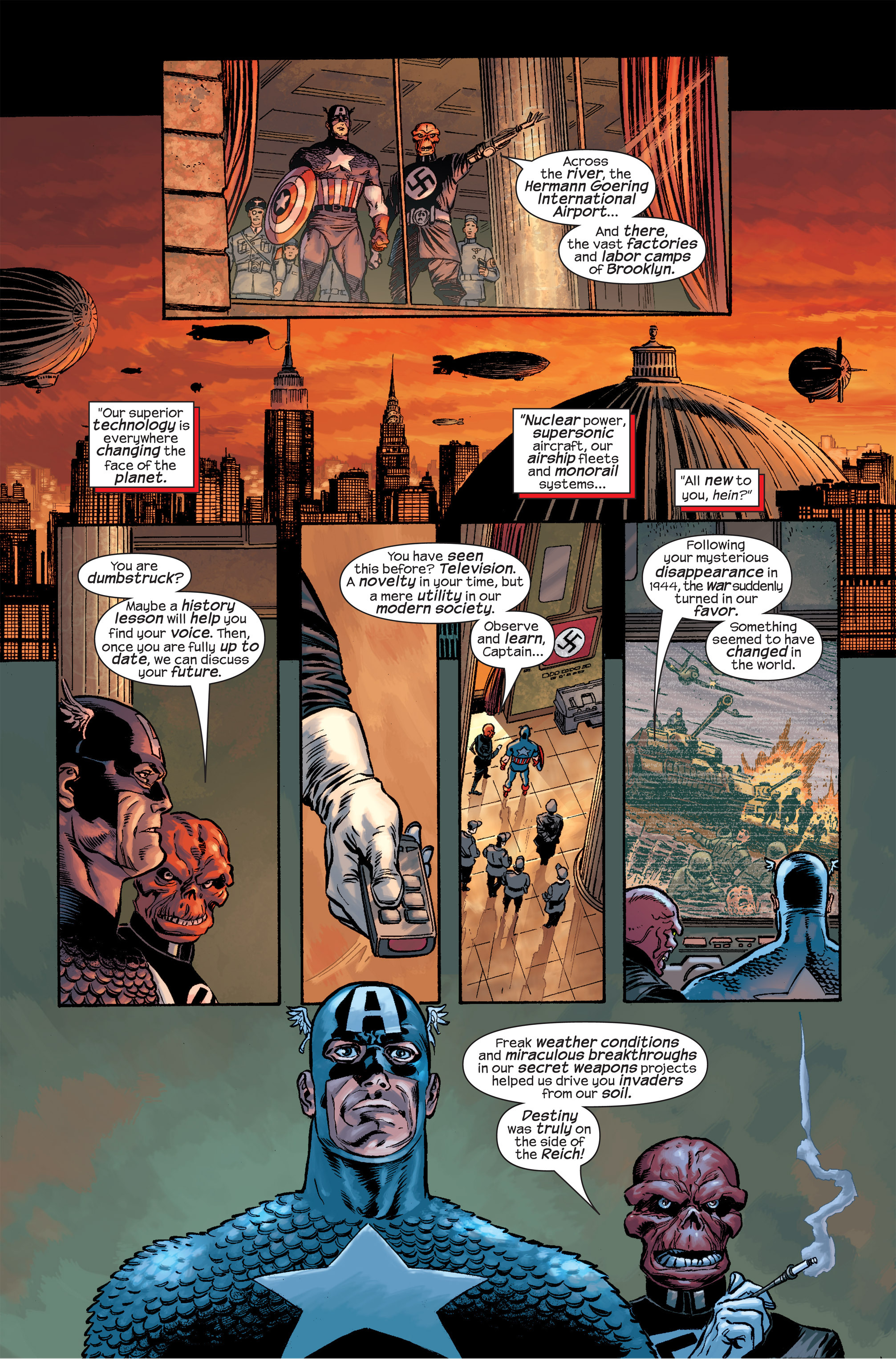 Captain America (2002) Issue #17 #18 - English 19