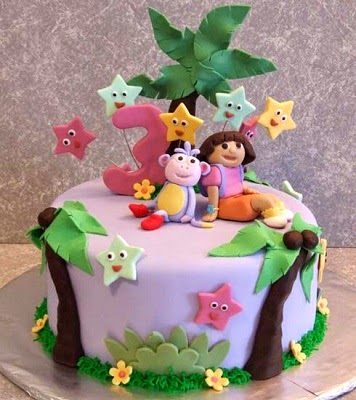 Birthday Cake Pictures Dora Explorer Birthday Cakes