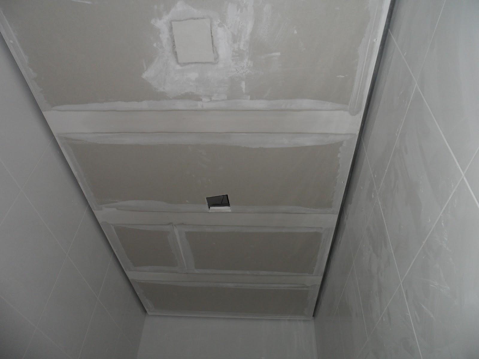 : REVISÃO DA SEMANA: CERCA ELÉTRICA GESSO E ALGUNS DETALHES #56534E 1600x1200 Banheiro Com Gesso