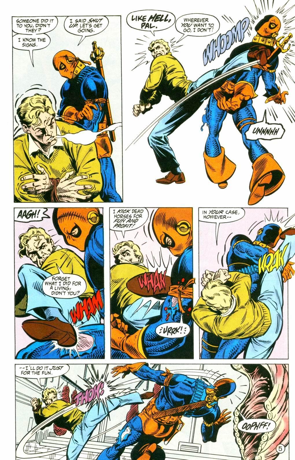 Deathstroke (1991) Issue #8 #13 - English 5