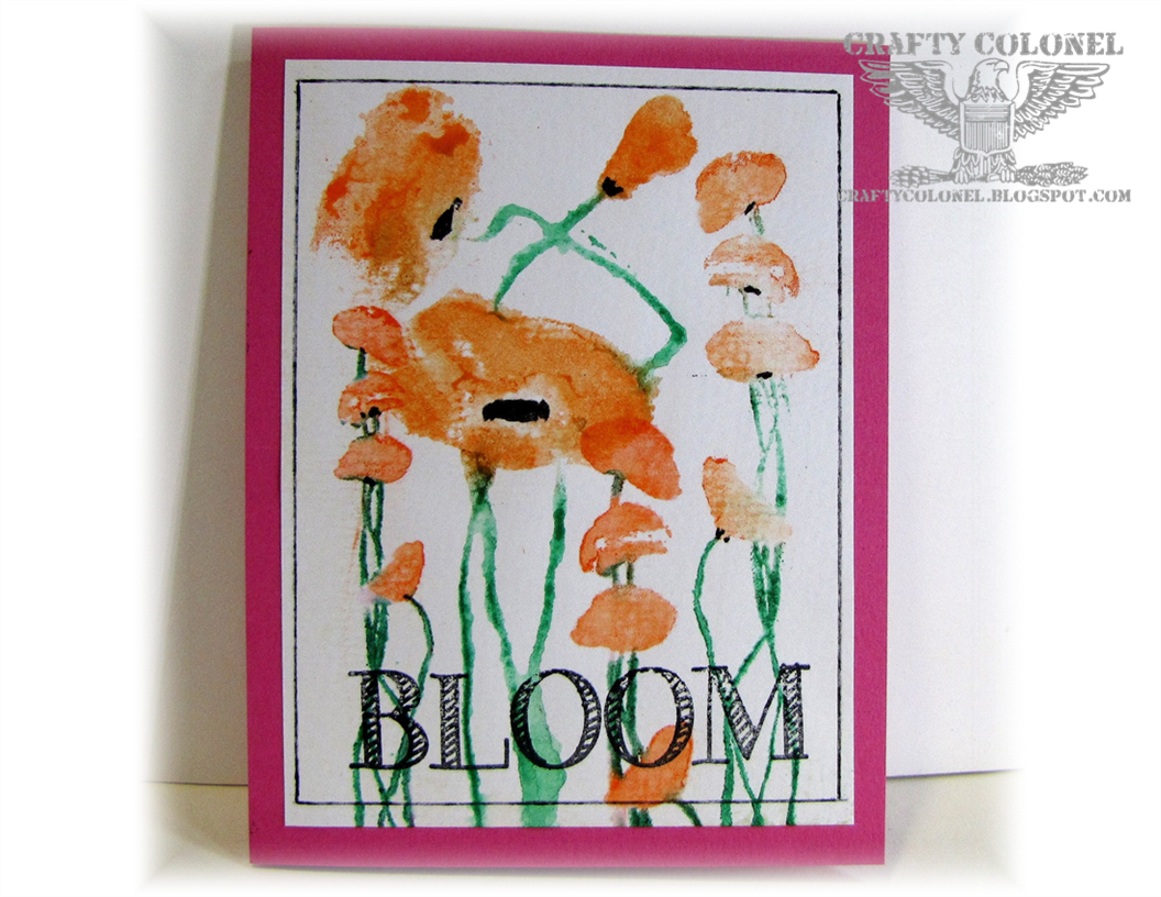 Crafty Colonel Donna Nuce, Club Scrap Bold Blooms Set, for Club Scrap Challenge