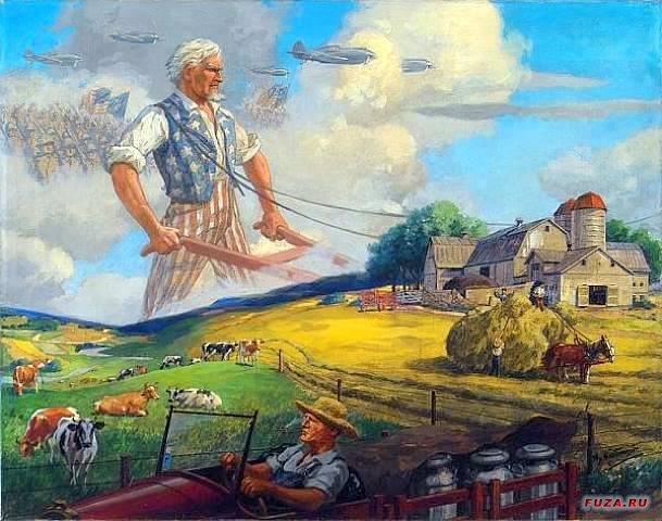 Paul laboured ike a hardworking farmer