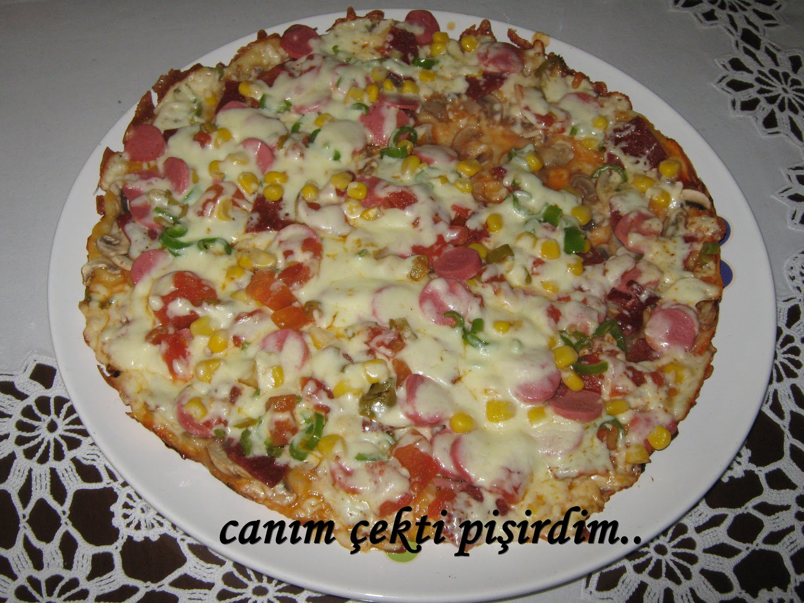 Tavada Pizza Tarifi Videosu