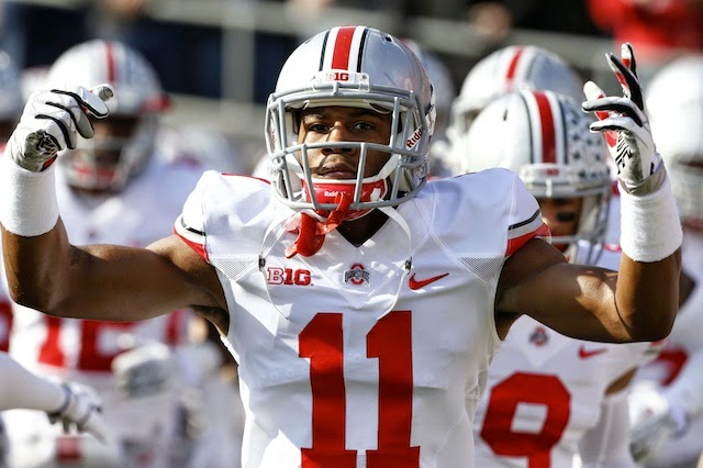 Ohio State Safety Vonn Bell Is Stuck In A Moment He Can't Get Out Of.