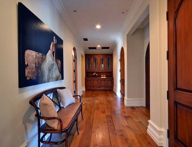 Interiors of the new house