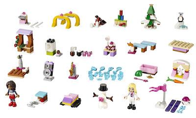 TOYS : JUGUETES - LEGO Friends  41102 Calendario de Adviento | Advent Calendar  Producto oficial 2015 | Piezas: 233 | Edad: 5-12 años  Comprar en Amazon España & buy Amazon USA