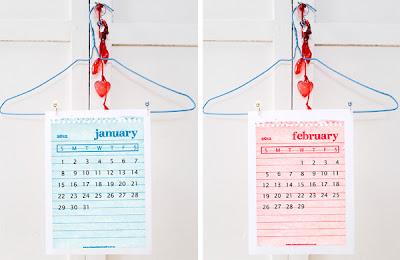 printable 2012 calendar