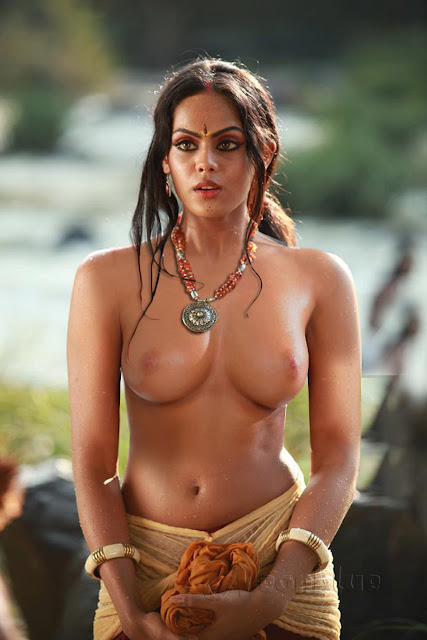Actress Karthika-Topless
