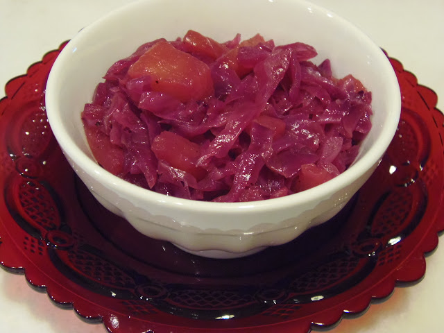 Sauteed Red Cabbage with Pineapple Recipe