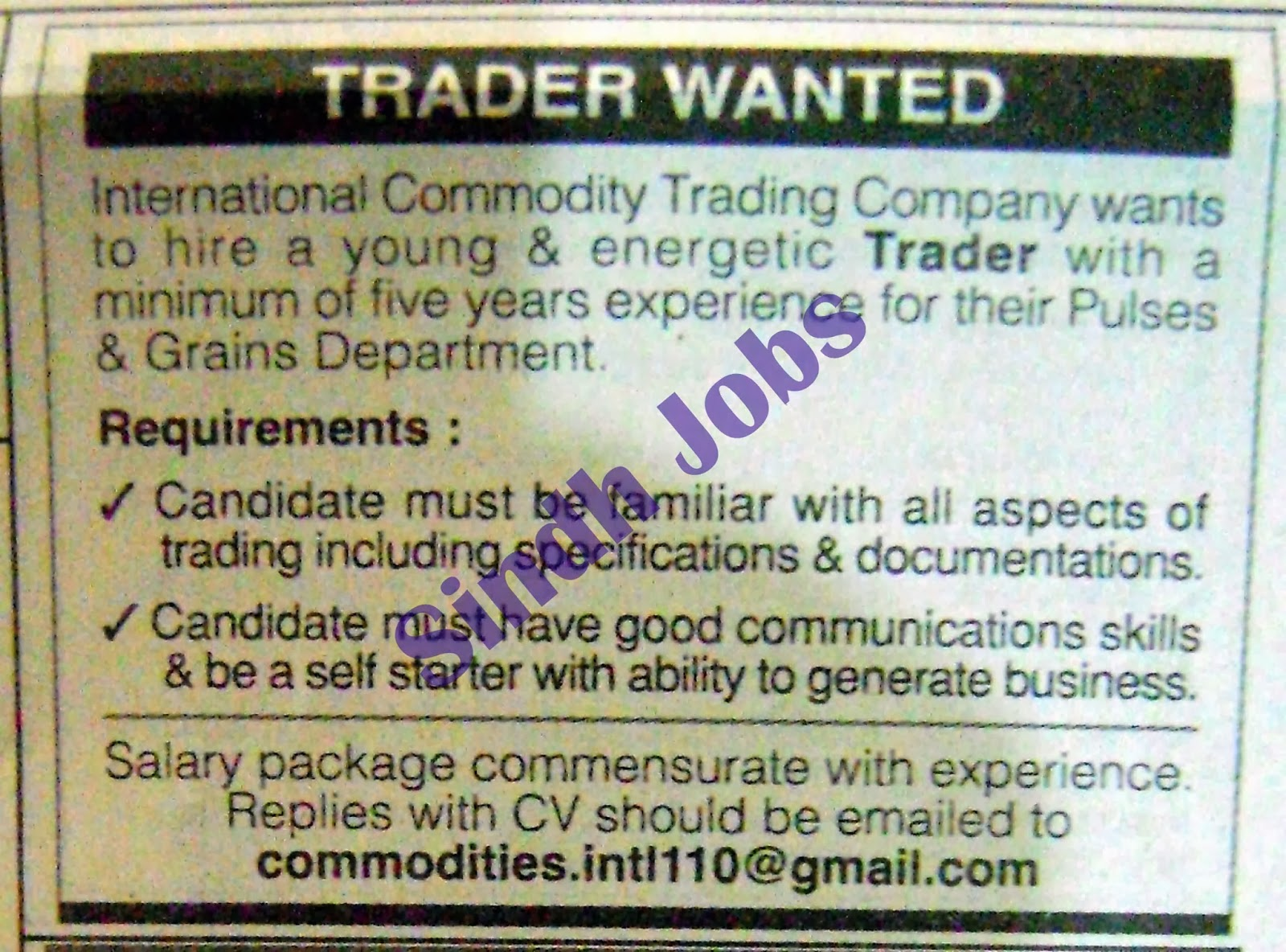 Schad commodity futures & options trading corporation